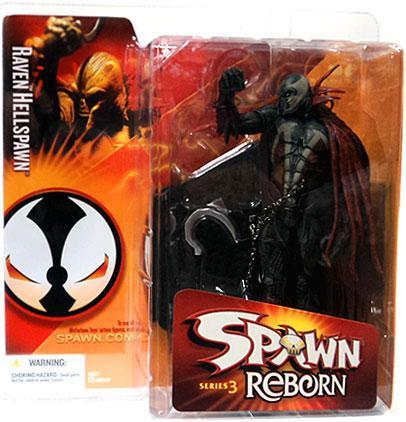 McFarlane Toys Spawn Spawn Reborn Series 3 Raven Hellspawn Action Figure by