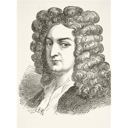 Joseph Addison 1672 To 1719 English Essayist Poet And Statesman From The National And Domestic History Of England By William Aubrey Published London Circa 1890 - History Halloween England