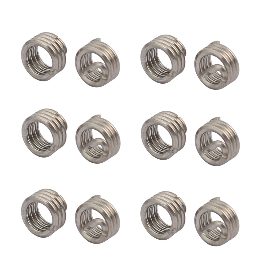 """#10-24x0.19"""" 304 Stainless Steel Helical Coil Wire Thread Insert 12Pcs"""