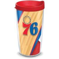 NBA Philadelphia 76ers Court 16 oz Tumbler with lid