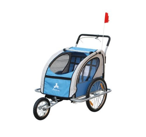 New MTN-G MTN-G Elite Aosom Double Baby Bike Trailer Stro...