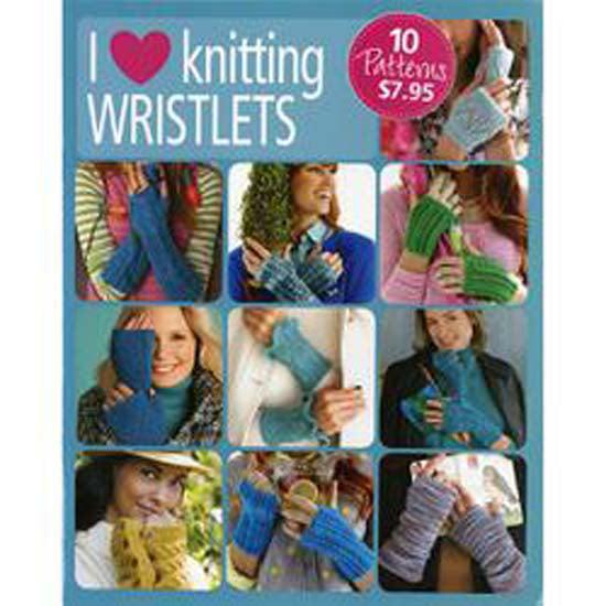 I Love Knitting Wristlets