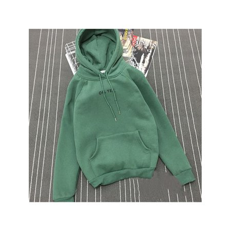 7f9df658c Clothes for Women on Clearance! Women's Pullover Hoodie for Women, Long  Sleeve Hooded Sweatshirts for Juniors, Yellow / Green / Red Gift Hoodies  Pullover ...