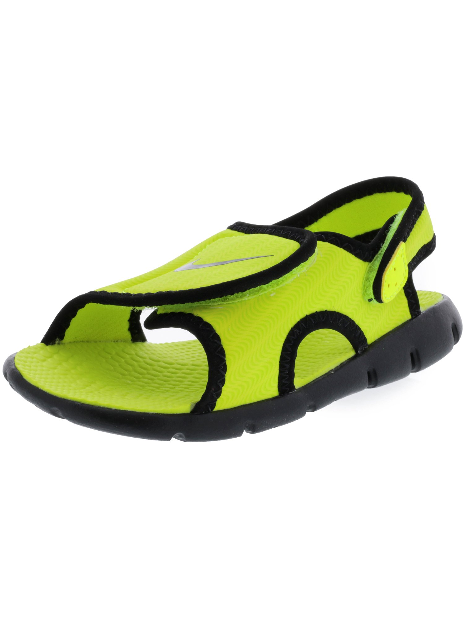 2037c0df74cc Nike Sunray Adjust 4 Black   White - Anthracite Sandal 4M