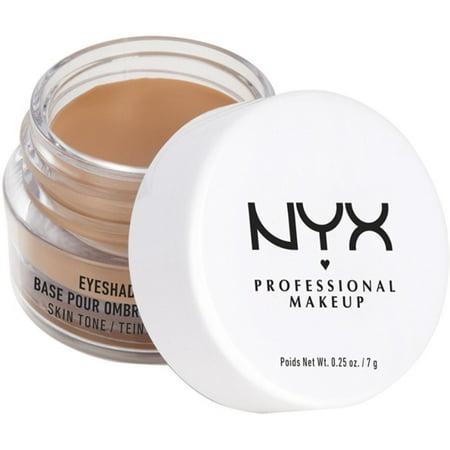 2 Pack - NYX Professional Makeup Eyeshadow Base, Skin Tone 0.25 oz (Makeup Eyeshadow Nyx)