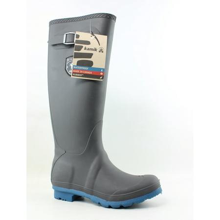 Kamik Rain Boots (Kamik Womens Jennifer Gray Rainboots Size 6 )
