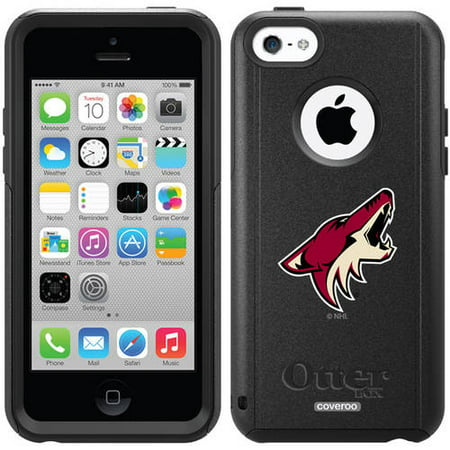 Phoenix Coyotes Primary Logo Design on OtterBox Commuter Series Case for Apple iPhone 5c by
