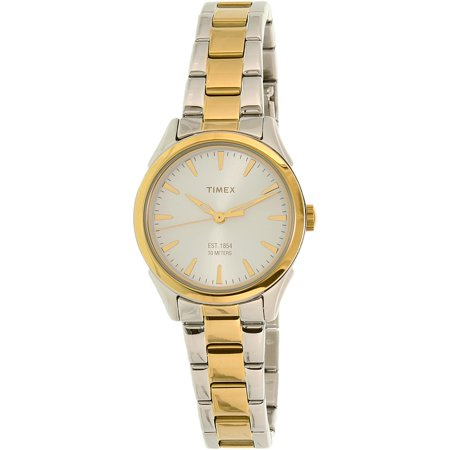Timex Women S Chesapeake Tw2p81900 Gold Stainless Steel Plated Anese Quartz Fashion Watch