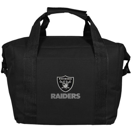 Oakland Raiders Kooler Bag - Black - No - Oakland Riders