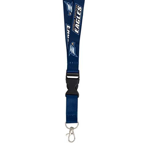 Georgia Southern University GSU Eagles NCAA Car Keys ID Badge Holder Lanyard Keychain Detachable Breakaway Snap Buckle