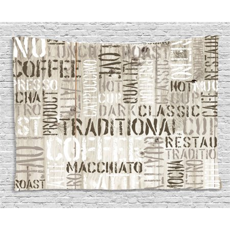 Modern Decor Tapestry Wooden