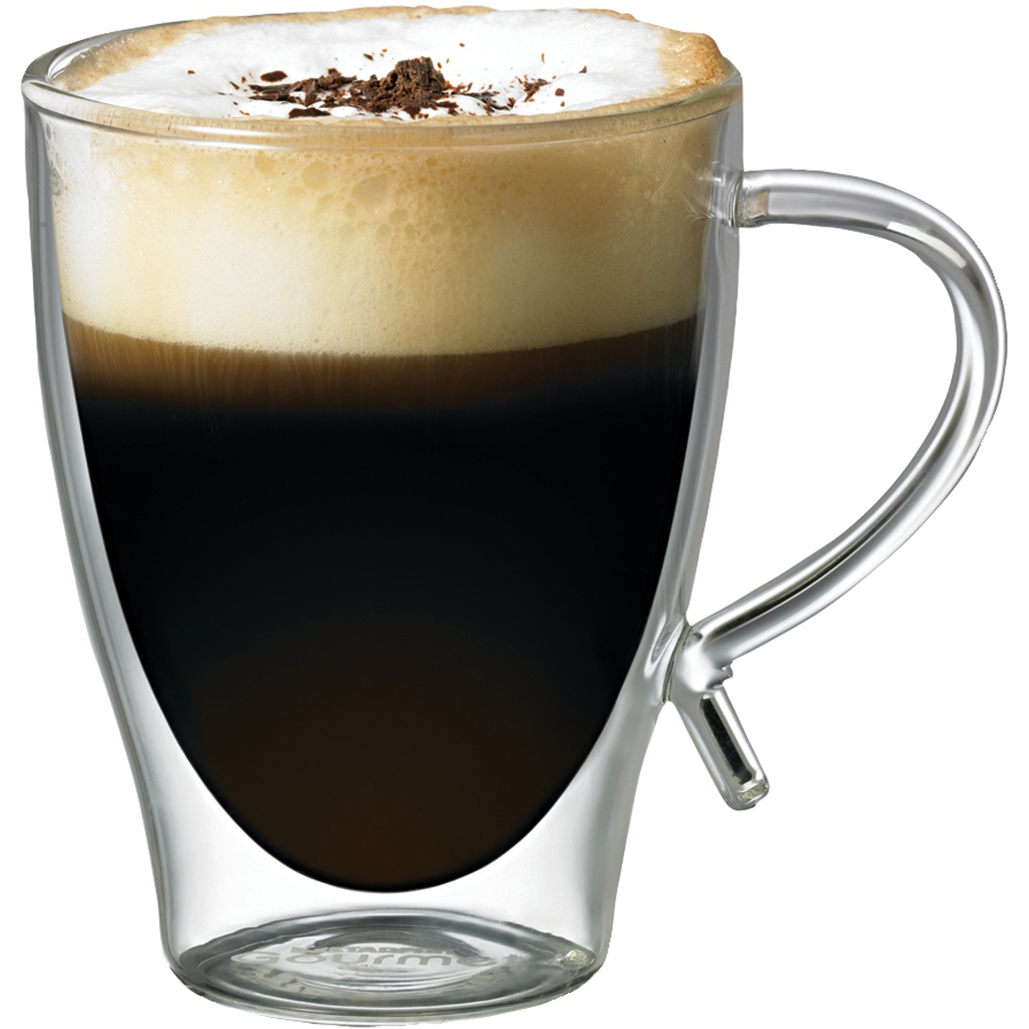 Starfrit 12 oz Double-Wall Glass Coffee Cup