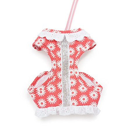 Easygo Soft Step In Dog Harness Flower Bling Extra