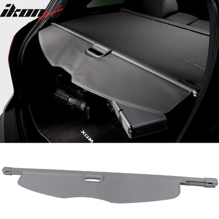 Fits 07-13 Acura MDX OE Style Retractable Rear Cargo Security Trunk Cover (Acura Mdx Cargo Cover)