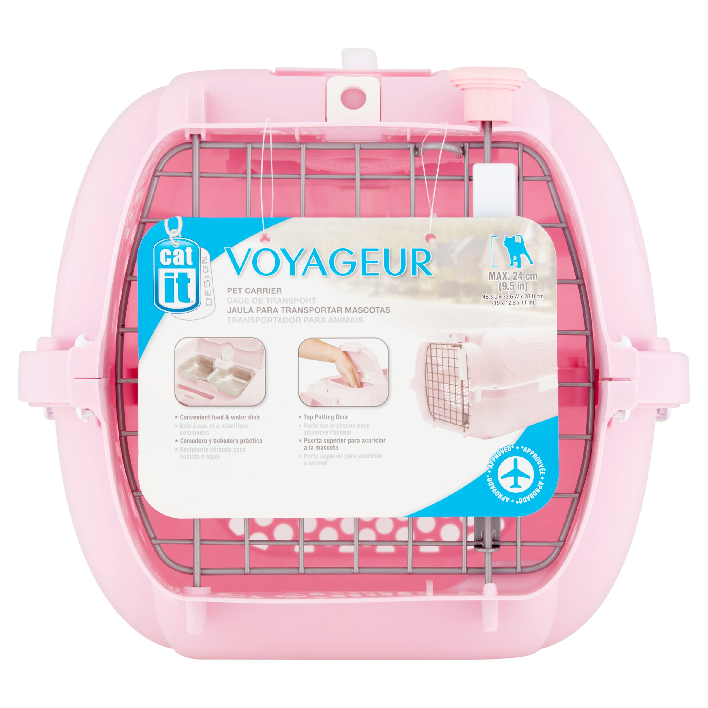 Catit Voyageur, Model 100, Small, Pink