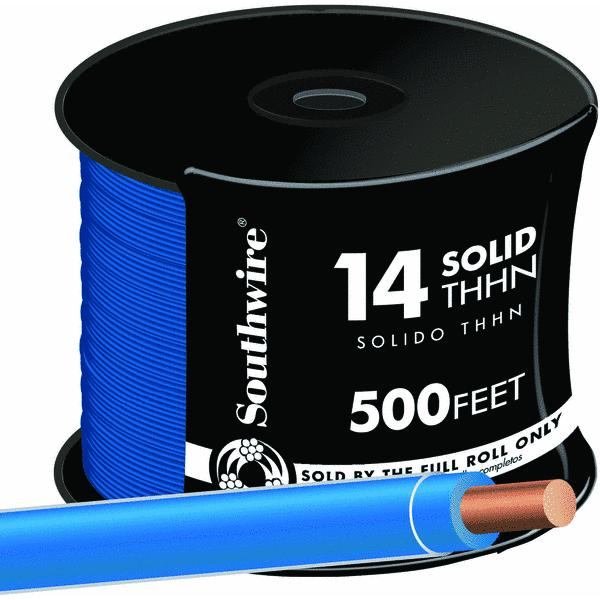 Southwire 14 AWG Solid THHN Wire