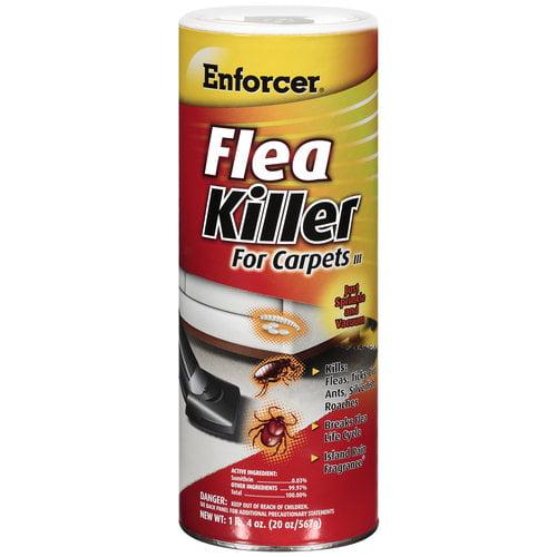 Enforcer Island Rain Flea Powder For Carpets III, 20 oz