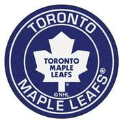 "NHL - Toronto Maple Leafs Roundel Mat 27"" diameter"