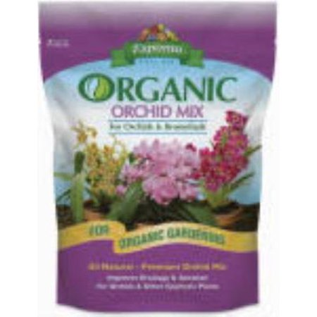 4 Qt Organic Orchid Mix Ideal All Organic Growing Media For Orchids   Only One
