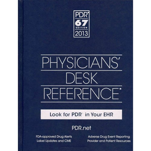 Physician's Desk Reference 2013