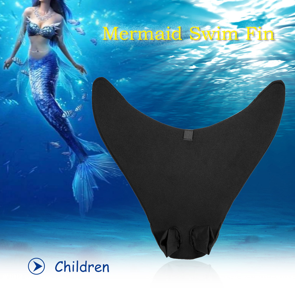 Mermaid Swim Fin Diving Monofin Swimming Foot Flipper for Adult Children by