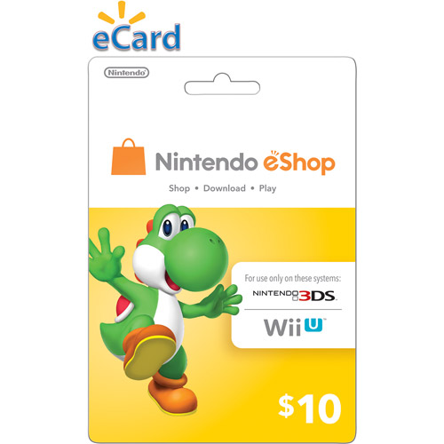 Nintendo eShop $10 (Digital Download)