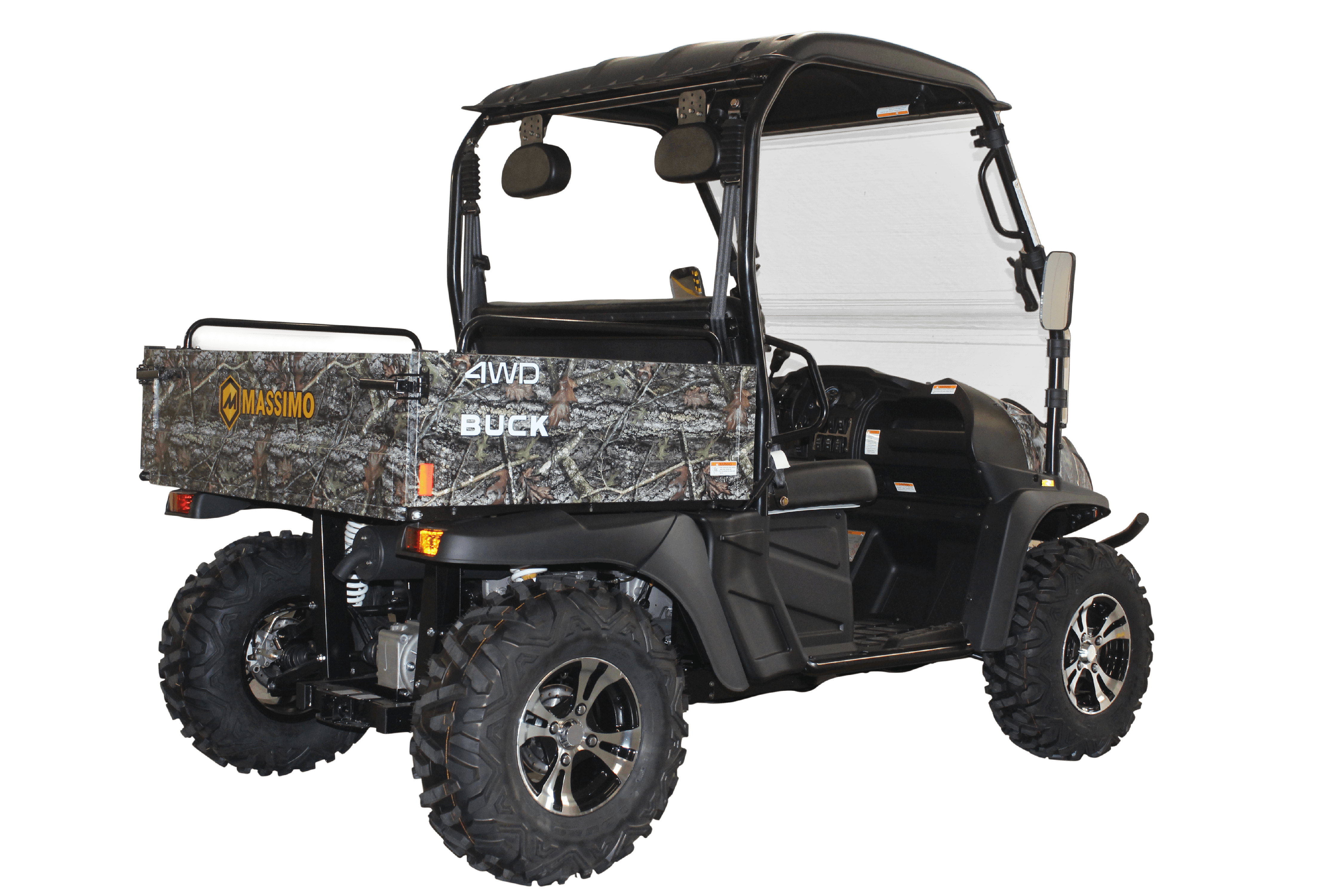 MASSIMO BUCK 400 UTV | 2WD/4WD, 391cc EFI UTV GOLF CART