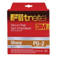 3M Filtrete Sharp PU-2 Micro Allergen Vacuum Bag