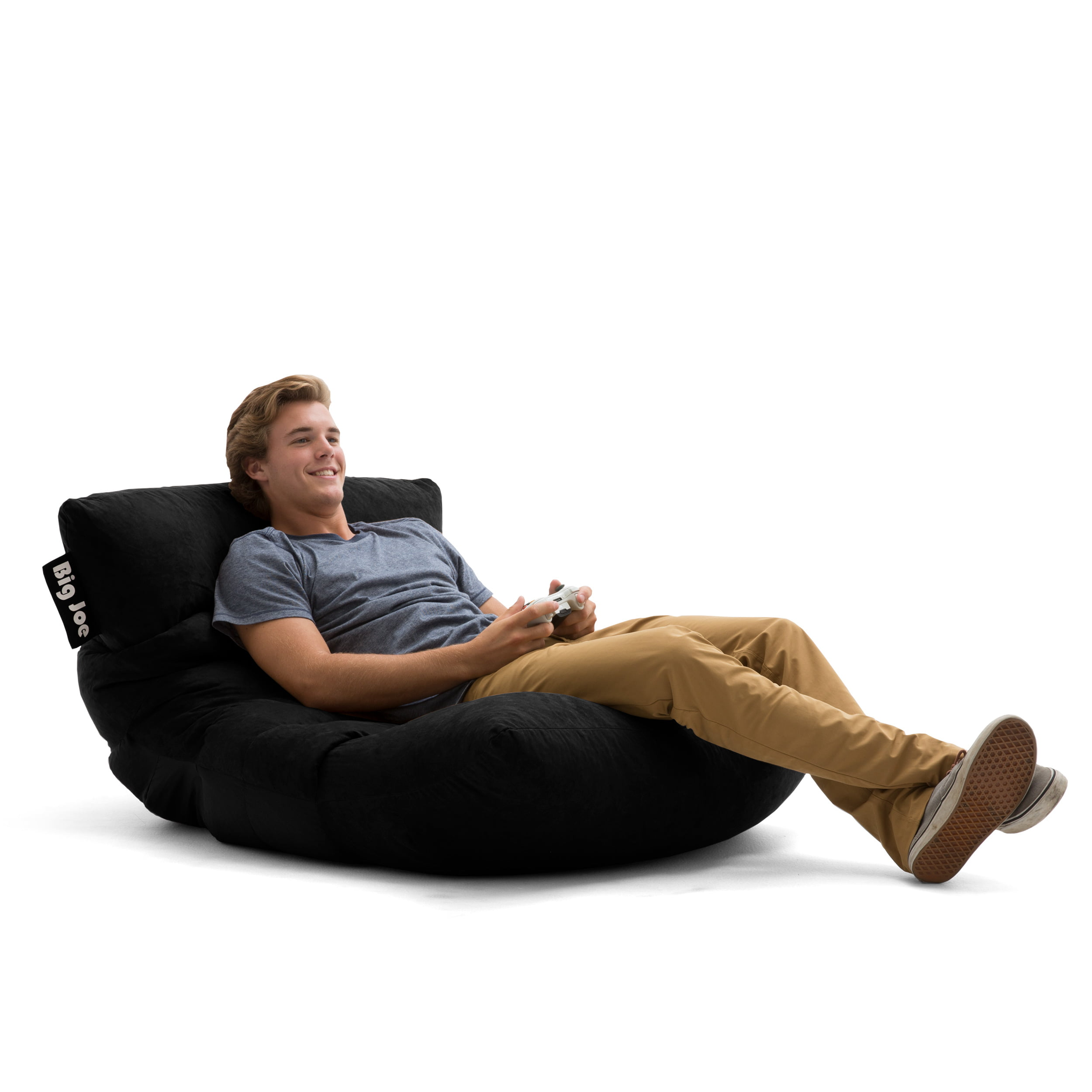 Surprising Big Joe Roma Floor Bean Bag Chair Multiple Colors Fabrics Inzonedesignstudio Interior Chair Design Inzonedesignstudiocom