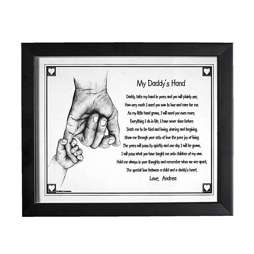Personalized Daddy's Hand