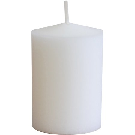 LumaBase Luminarias 15-Hour Votive Candles, (Flower Pot Votive Candle)