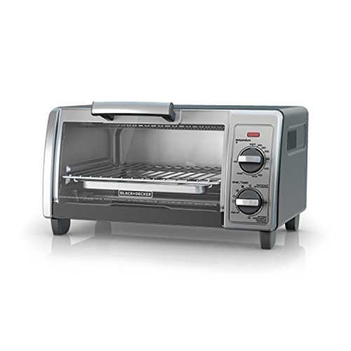 Black + Decker TO1705SG 4-Slice Countertop Toaster Oven - Stainless Steel/Silver