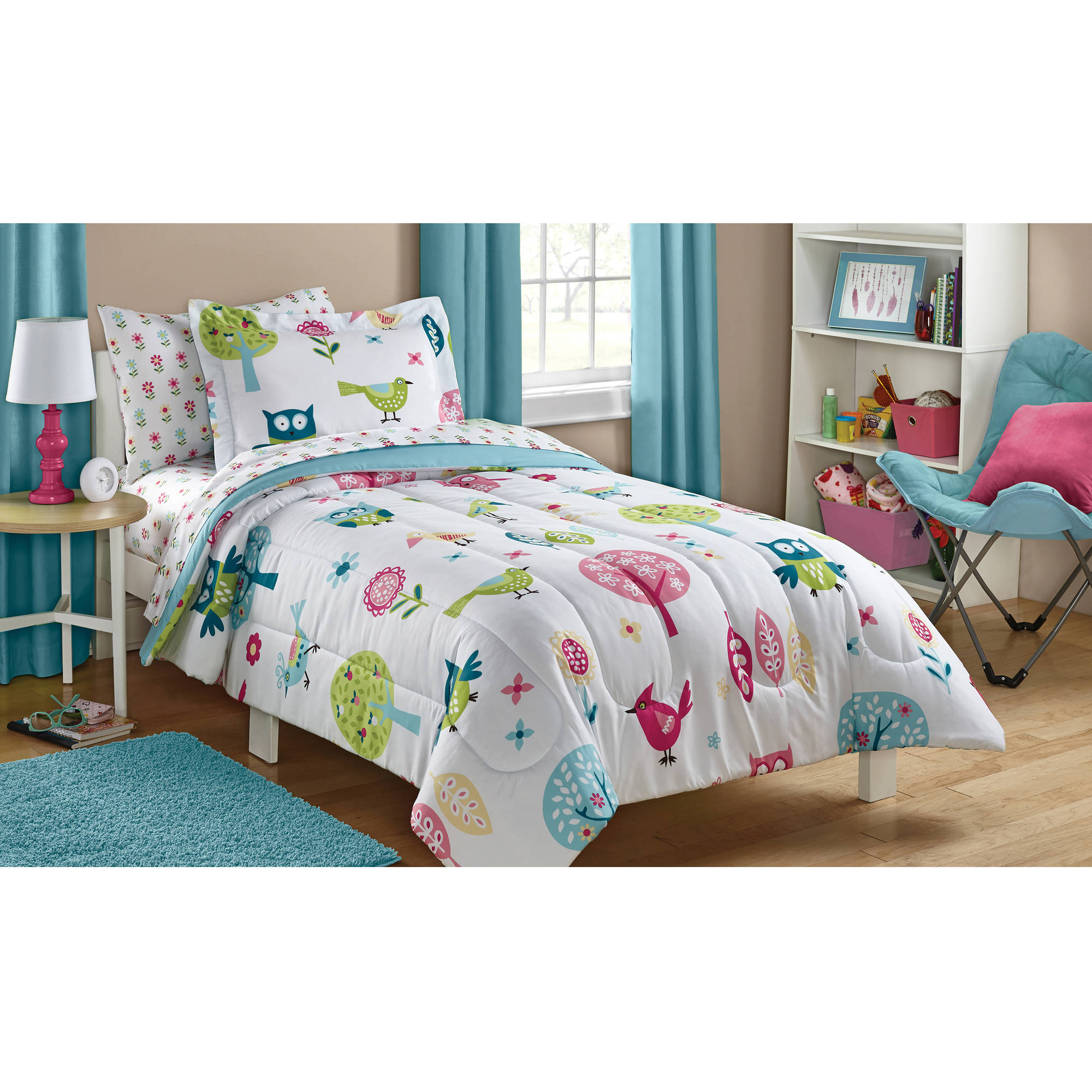 Mainstays Kids Woodland Bed in a Bag Bedding Set by Keeco, LLC