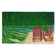 First Impression Beach Outdoor Doormat