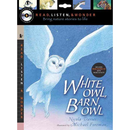White Owl, Barn Owl: Peggable