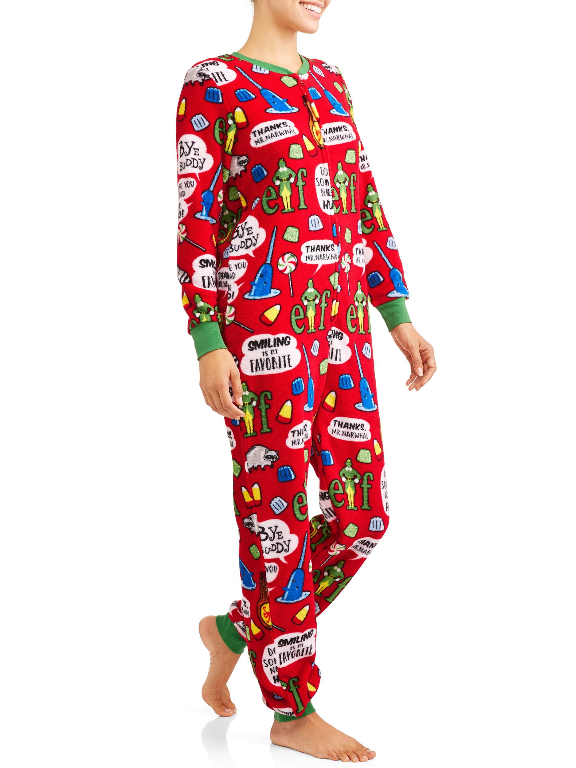 632adff22 ELF - Women s and Women s Plus Dropseat Union Suit - Walmart.com