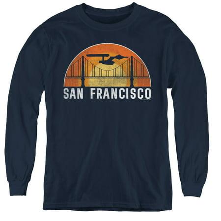 The Costume Shop Sf (Star Trek - San Francisco Trek - Youth Long Sleeve Shirt -)
