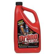 DRANO CB401099 Gel Clog Remover, Size 80 oz., PK 6