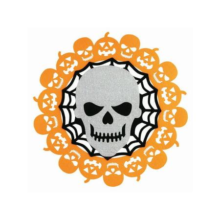 Skull Felt Decoration