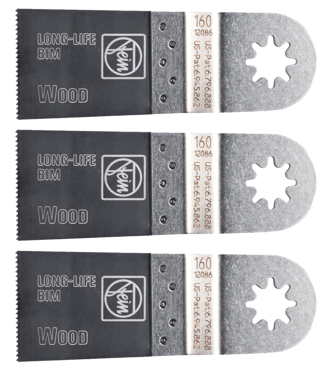 Fein 63502160010 Long Life 1-3 8-Inch E-Cut Blade (3 pack) by