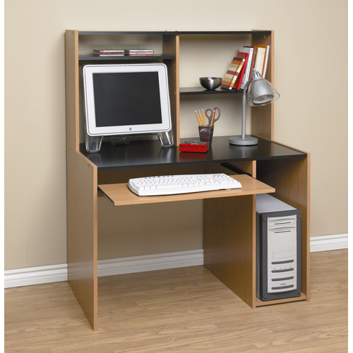 Student Computer Desk With Hutch Book Storage Shelves Home Office Furniture
