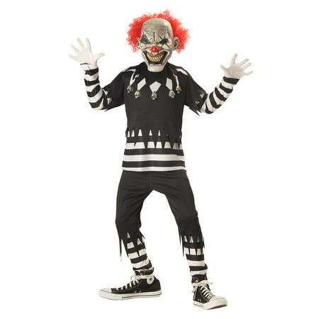 Creepy Clown Child Costume - Costume Clown