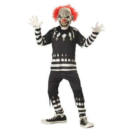 Creepy Clown Child Costume - Creepy Clown Painting