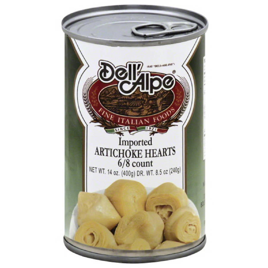 Dell Alpe Imported Artichoke Hearts, 14 oz, (Pack of 12)
