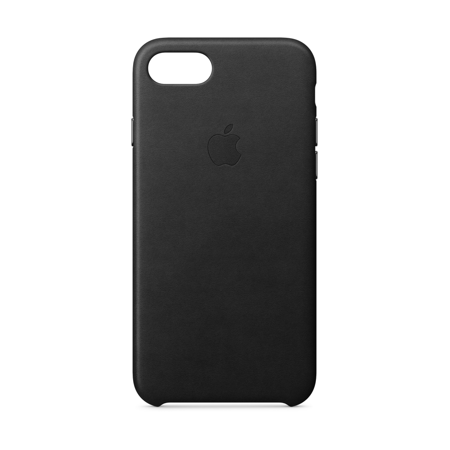 Apple Leather Case for iPhone 8 & iPhone 7 - Black