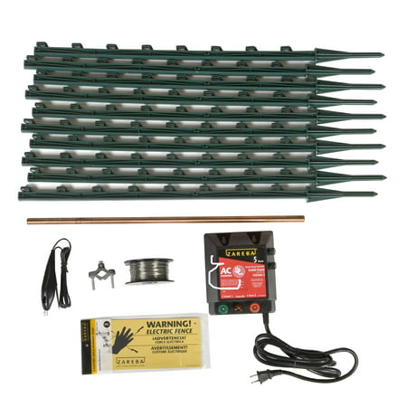 Zareba AC Garden Protector Electric Fence Kit