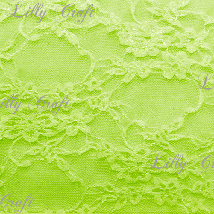Avacodo Giselle STRETCH Lace 58 Inch Fabric Sold by the Yard