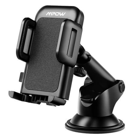Mpow Car Phone Mount,Washable Strong Sticky Gel Pad with One-Touch Design Dashboard Car Phone Holder for iPhone 8/8Plus/7/7Plus/6s/6Plus/5S, Galaxy, Google Nexus, LG, Huawei and More (Best Car Dashboard Design)