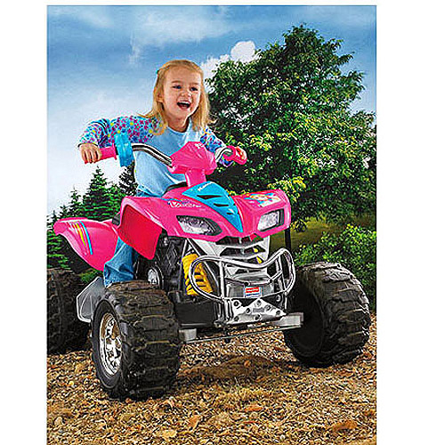 Fisher-Price Power Wheels Barbie KFX 12-Volt Battery-Powered Ride-on (For Girls 3-5 Years)