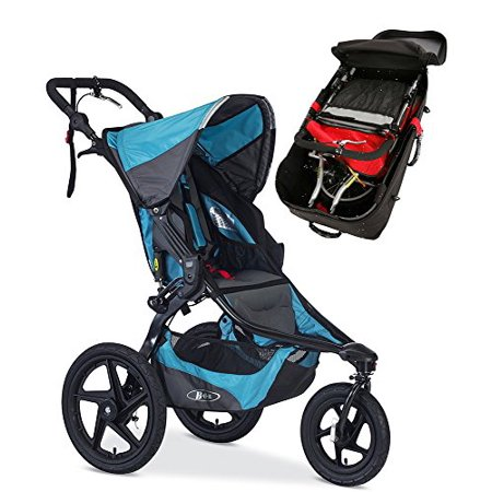 Bob Revolution Pro Stroller With Travel Bag Bundle Lagoon